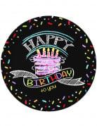 8 Teller Happy Birthday