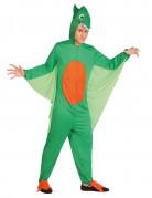 Flug-Dinosaurierkostüm für Männer grün