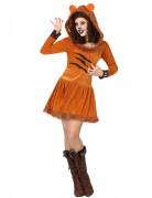 Löwin-Kostüm Damen