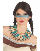 Indianer Halskette für Frauen in Blau