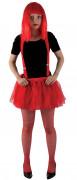 Roter Halloween Unterrock
