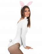 Weiß-rosa Hase Set für Erwachsene