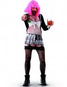 Humoristisches Kostüm Freche Schülerin für Männer