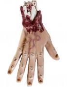 Aufgeschnittene Hand Halloween 25 cm