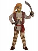 Zombie Piratenkostüm für Kinder