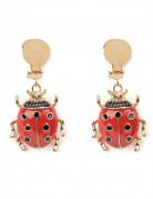 Marienkäfer Ohrringe für Erwachsene