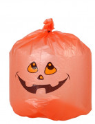 10 Halloweenkürbis-Müllsäcke