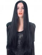Perücke mit sehr langen schwarzen Haaren für Frauen - 75cm