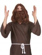 Perücke mit Bart im Jesus-Stil für Herren