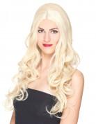Blonde Perücke mit Locken für Frauen