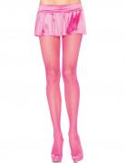 Rosa Netzstrumpfhosen