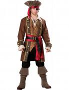 Piraten Kapitäns Kostüm für Herren - Deluxe