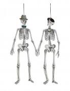 Retro-Skellete als Dekoration Mr. und Mrs. 1,5 Meter