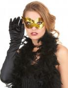 Goldene Venedig Augenmaske für Erwachsene