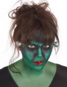 Grünes Monster Make-Up-Set mit Kontaktlinsen