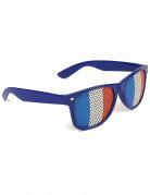 Französische Fan-Brille