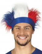 Haarband mit blauweißroten Haare