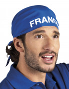 Frankreich Bandana blau