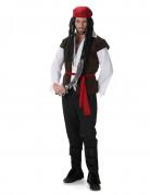 Karibisches Piraten Herrenkostüm bunt