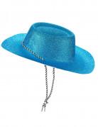 Blauer Cowgirl-Hut