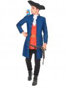 Piratenkapitän-Kostüm für Herren bunt