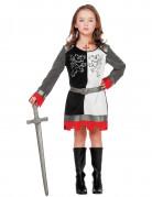 Ritterin der Tafelrunde Kostüm für Mädchen