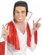 Rock 'n' Roll Elvis Maske für Erwachsene