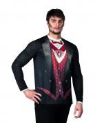 Vampir T-Shirt Halloween für Herren