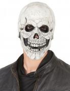 Latex-Maske lachender Schädel