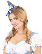 Bayern Haarreif mit Minihut für Erwachsene