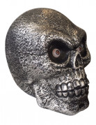 Halloween-Dekoration gigantischer Totenkopf mit Licht und Sound, 30 cm