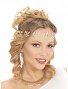 Goldene Halskette für Damen