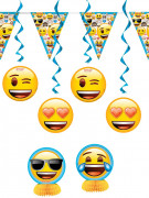 Dekorations-Set Emoji
