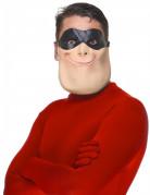 Superheld Halbmaske aus Latex für Erwachsene