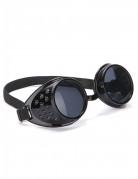 Schwarze Bikerbrille