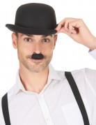 Schwarzer Charlie Chaplin Schnurrbart für Erwachsene