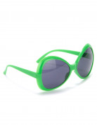 Disko-Brille für Erwachsene in Grün