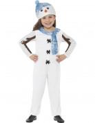 Schneemann-Kostüm für Kinder