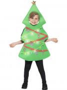 Leuchtendes Weihnachtsbaum Kostüm für Kinder