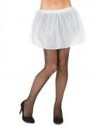 Tutu mit Tüll Minirock für Damen weiß