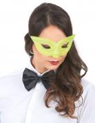 Venezianische Maske für Erwachsene gelb