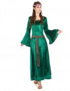 Mittelalter-Kostüm für Damen grün