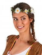 Blumenkrone mit weißen Margeriten für Erwachsene