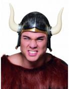 Wikinger-Helm für Erwachsene in anthrazit-gold