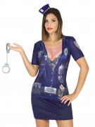 Sexy Polizistin T-Shirt für Damen