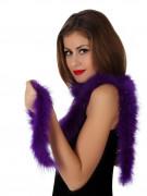 Federboa Karneval-Accessoire 185 cm lila