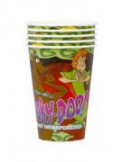 4 Partybecher im Scooby-Doo Design