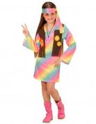Hippiekostüm in Pastel für Mädchen