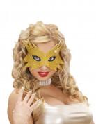 Goldene Stern-Maske für Erwachsene