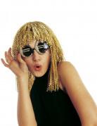 Glitzernde Euro Spaßbrille für Erwachsene gold